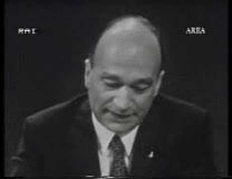 Giorgio Almirante 25 Maggio 1970 Youtube