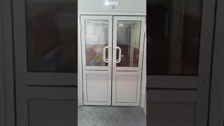 видео Маятниковые двери