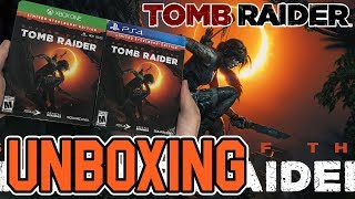 Shadow of the Tomb Raider (Limited Steelbook Edition) (PS4/Xbox One) Unboxing!!