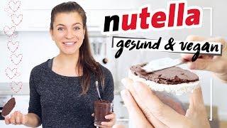 Gesunde Nutella | Vegan, Gesund & ohne Zucker | Neuer Trend Schoko Hummus