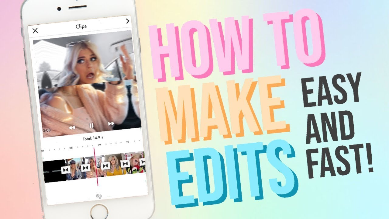 How To Make Edits On Funimate Youtube