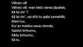 Samanta Tīna - Lai būtu līdzās/I need a hero (lyrics)