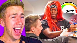 MINIMINTER REACTS TO SIDEMEN SILENT CHALLENGE