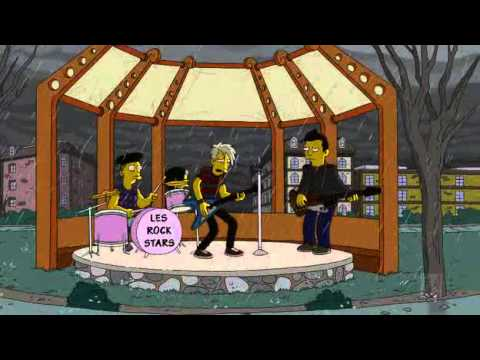 The Simpsons - French Rock'n'roll