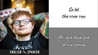 Eminem - River ft. Ed Sheeran (Letra Ingles y Español)