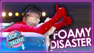 When Judges Get ATTACKED By Foam! | Top Talent