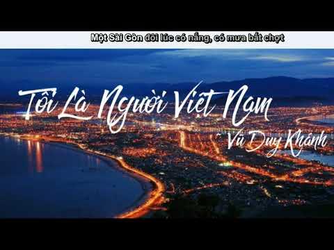 Tôi Là Người Việt Nam-Vũ Duy Khánh Cover (video lyric)