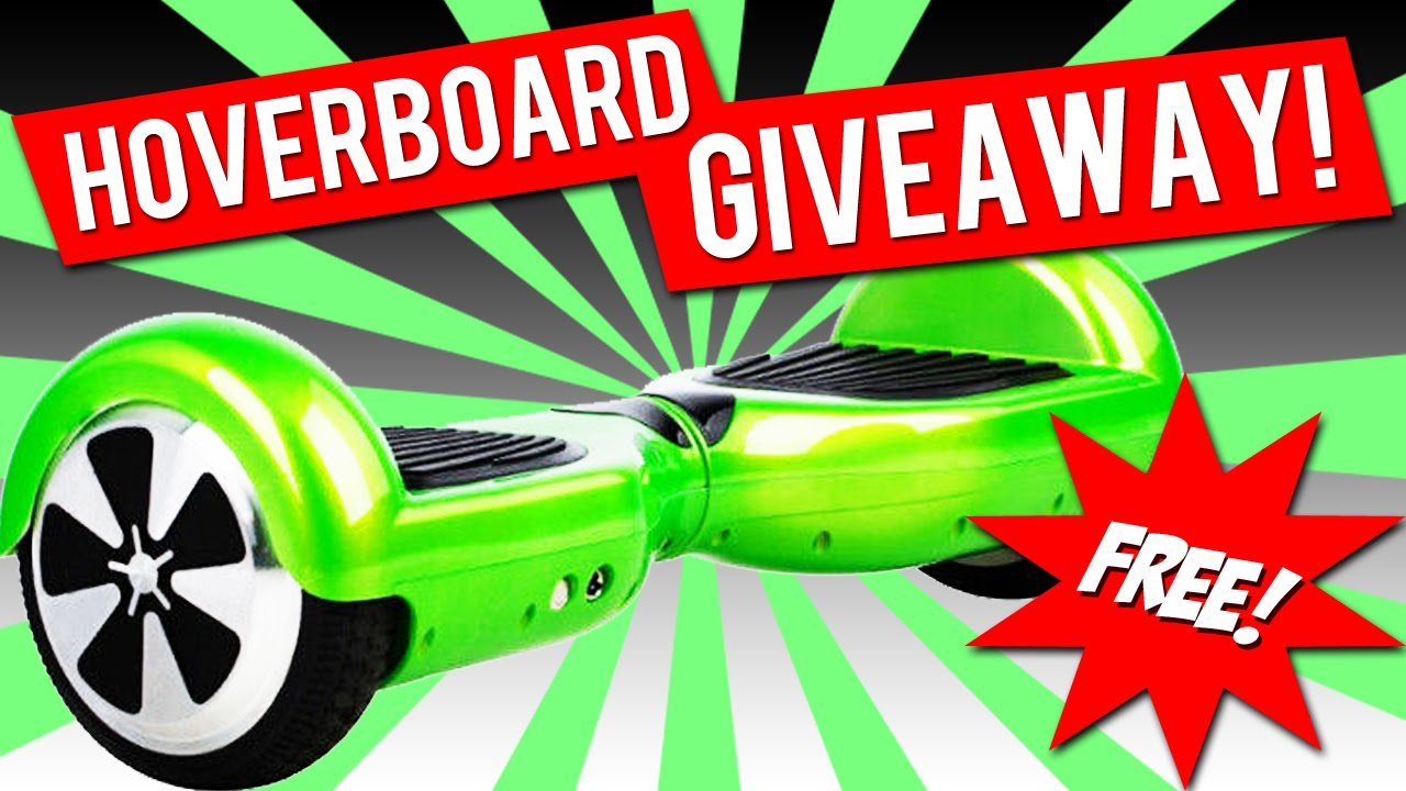 HOVERBOARD GIVEAWAY JANUARY 2019