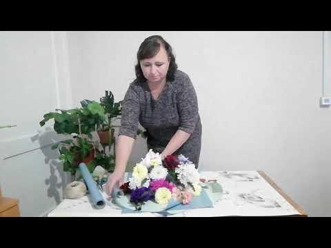 Букет цветов из садовых цветов своими руками фото