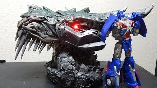 transformers custom movie screen accurate tf4 aoe in scale grimlock 5ft part 1