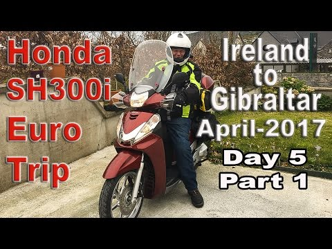 Ireland to Gibraltar Motorcycle trip_Day 5_Part 1
