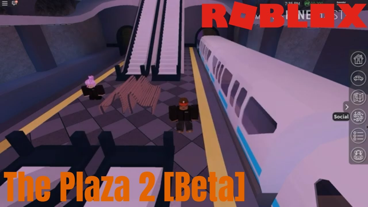 Plaza Beta Roblox A New Plaza Is Here Roblox The Plaza 2 Beta Youtube