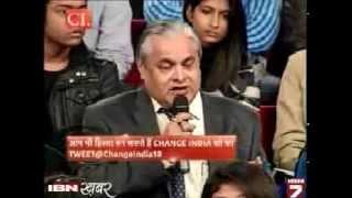 Mr. Pradeep Maheshwari speaking at Change India, IBN Khabar (Hindi)