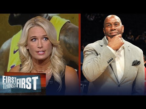 Sarah Kustok on Magic getting too much credit for signing LeBron | NBA | FIRST THINGS FIRST