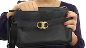 1ecc736525dd Tory Burch Gemini Link Stripe Belted Small Hobo SKU 8843819 - YouTube
