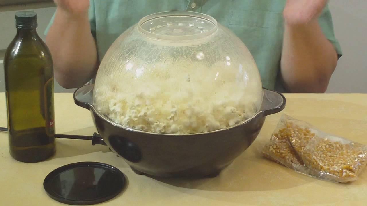 Westbend Stir Crazy Popcorn Popper 82306 Youtube