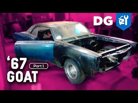 BARN FIND BUILD: '67 Pontiac GTO Restoration (Part 1)