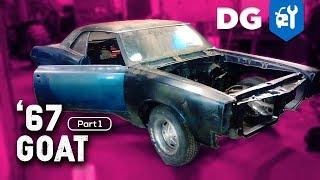 '67 Pontiac GTO Restoration - BARN FIND BUILD