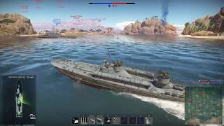 Морские сражения в War Thunder. Спасение катера Снайпер