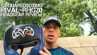 Rival RHG-20 Boxing Headgear Review