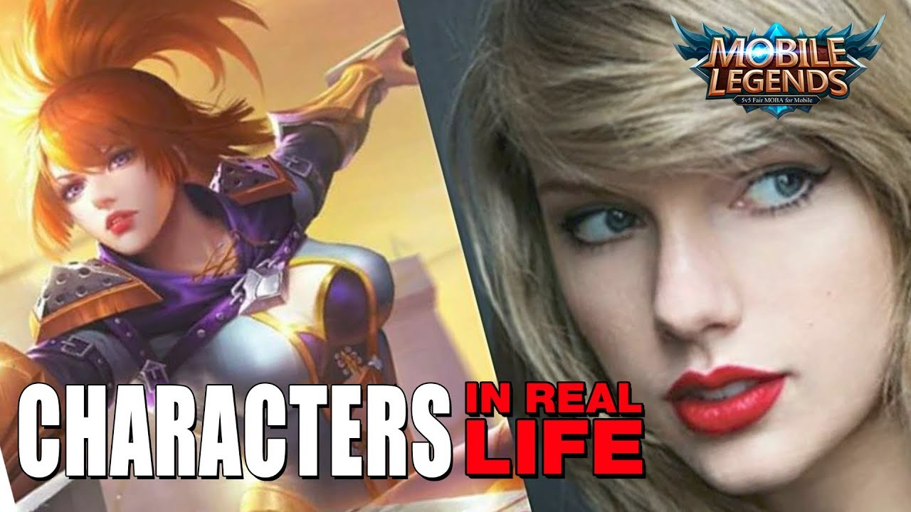 MOBILE LEGENDS ✪ CHARACTERS IN REAL LIFE ► HOLLYWOOD ACTORS & CELEBRITIES