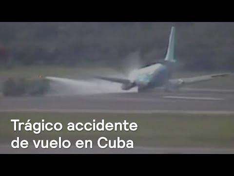 Accidente aéreo en Cuba deja más de 100 muertos  - En Punto con Denise Maerker