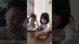 하루하진의 먹방 (feat 주방?)