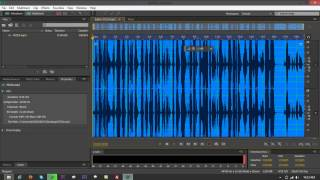 Convert MP3 to OGG Using Adobe Audition CS6