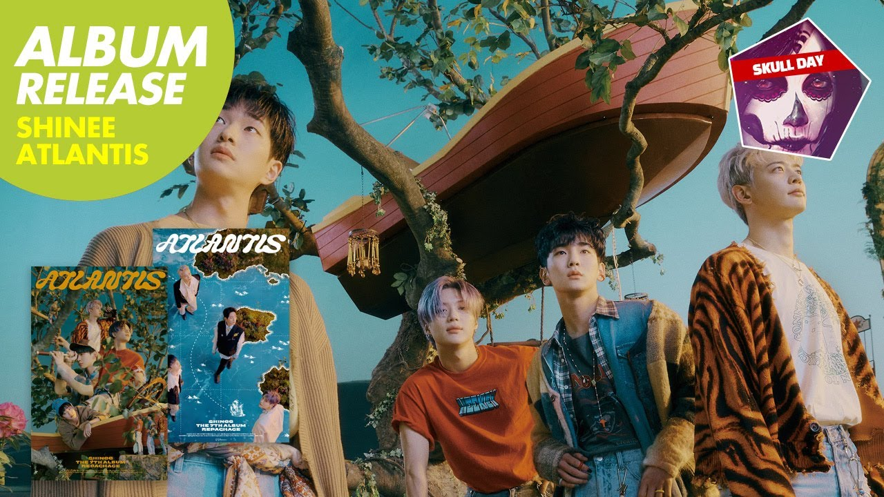 ✨SHINEE - ATLANTIS✨7th Repackage Album Unboxing Preview (New Kpop Song) 샤이니 7집 리패키지 앨범(아틀란티스)언박싱 프리뷰