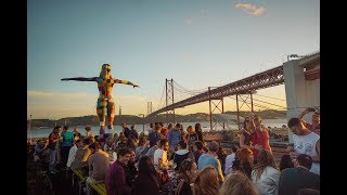 LISBON, CAMPING, PANCAKES & HIPSTERS