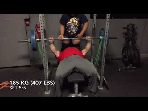 Dan Green -- More Bench Training