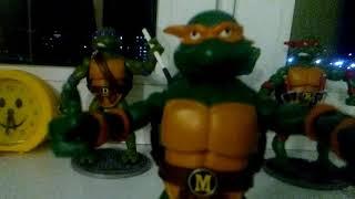 обзор на фигурки черепашки ниндзя по мультфильму 1987 от playmates toys
