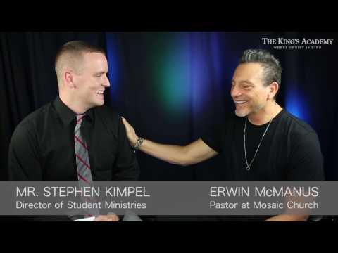 The Unique Personality of Erwin McManus