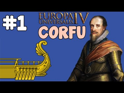 Let's Play: EU4 Res Publica - Corfu episode 1