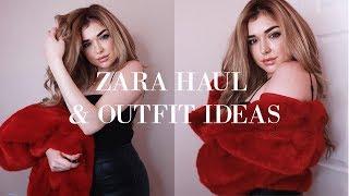 ZARA CLOTHING  HAUL + OUTFIT IDEAS FOR WINTER 2019 | Chloe Zadori