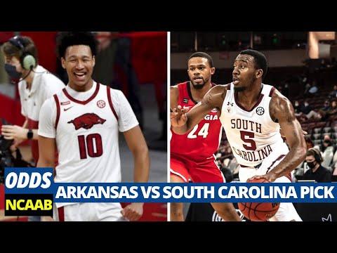 Arkansas vs South Carolina Pick | College Basketball Predictions | March 2nd