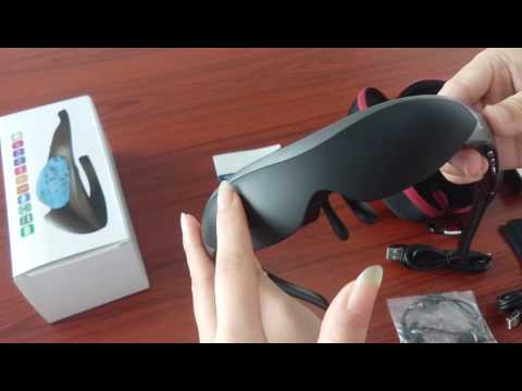 Smart 3D Video Glasses, head-mounted display, portable theater
