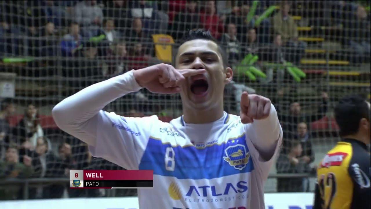 Gols Magnus 2x3 Pato - Semifinal Taça Brasil de Futsal 2018 (11 08 2018) 9c7e9237952aa