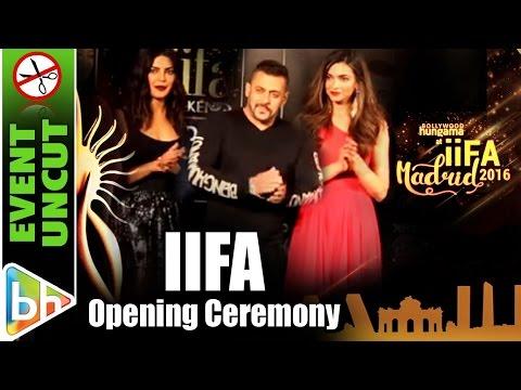 IIFA 2016 Madrid Opening Ceremony | Event Uncut | Salman | Priyanka | Deepika