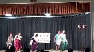 San Diego Maharashtra Mandal Gudhi Padwa 2014 Koli dance