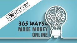 Even Poets Can Make Money Online