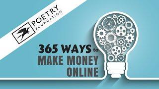 Even Poets Can Make Money Online