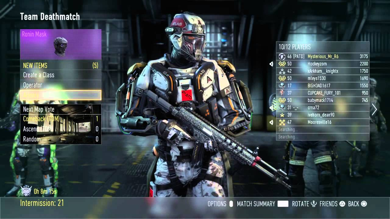 Call of Duty®: Advanced Warfare (Ronin Helmet dissapointment ...