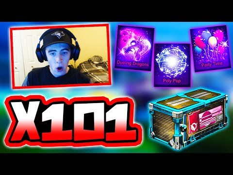 """OPENING 101 NEW """"VELOCITY"""" CRATES!!   2 GOAL EXPLOSIONS! ( Rocket League )"""