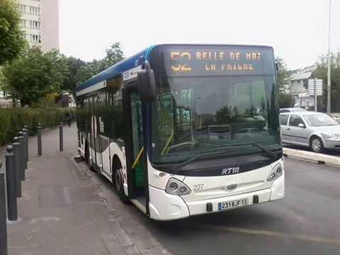 sound bus heuliez bus gx 127 n 227 de la rtm marseille sur la ligne 52 youtube. Black Bedroom Furniture Sets. Home Design Ideas