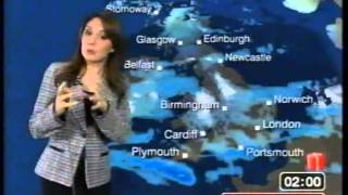 BBC Weather 29th December 2009 with Laura Tobin