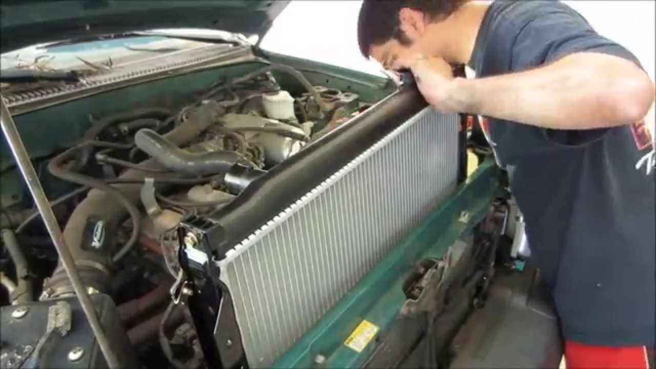 maxresdefault tacoma radiator replacement youtube