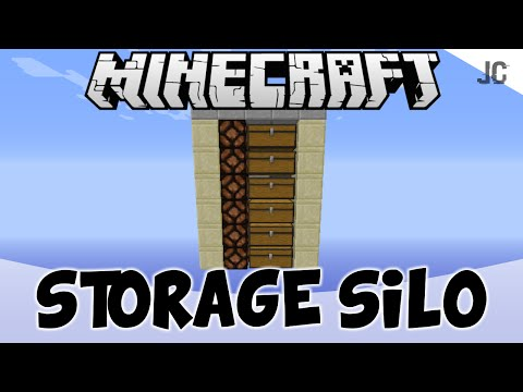 Storage Silo | Minecraft Tutorial #1