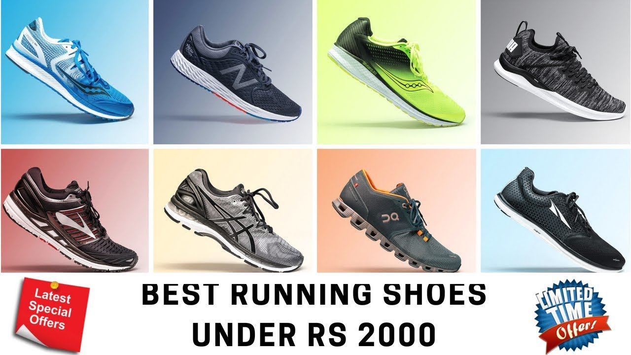 10 Best Running Shoes Under Rs 2000
