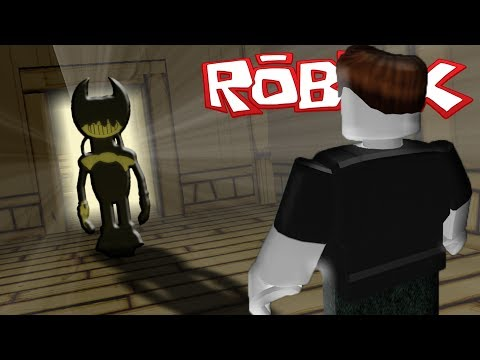 SOBREVIVE A BENDY AND THE INK MACHINE EN ROBLOX !!